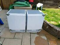 Intergrated fridge and freezer