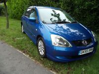 Honda Civic SE 5dr (blue) 2005