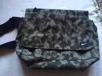 Nike shoulder bag grey black good condition £8