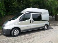 2011 Silver Renault Trafic Campervan... New conversion Camper