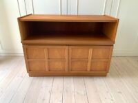 Mid 20th Century Nathan Squares Teak Small Sideboard, Cabinet or TV Stand
