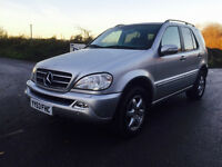 LHD MERCEDES ML500 AUTOMATIC LEFT HAND DRIVE