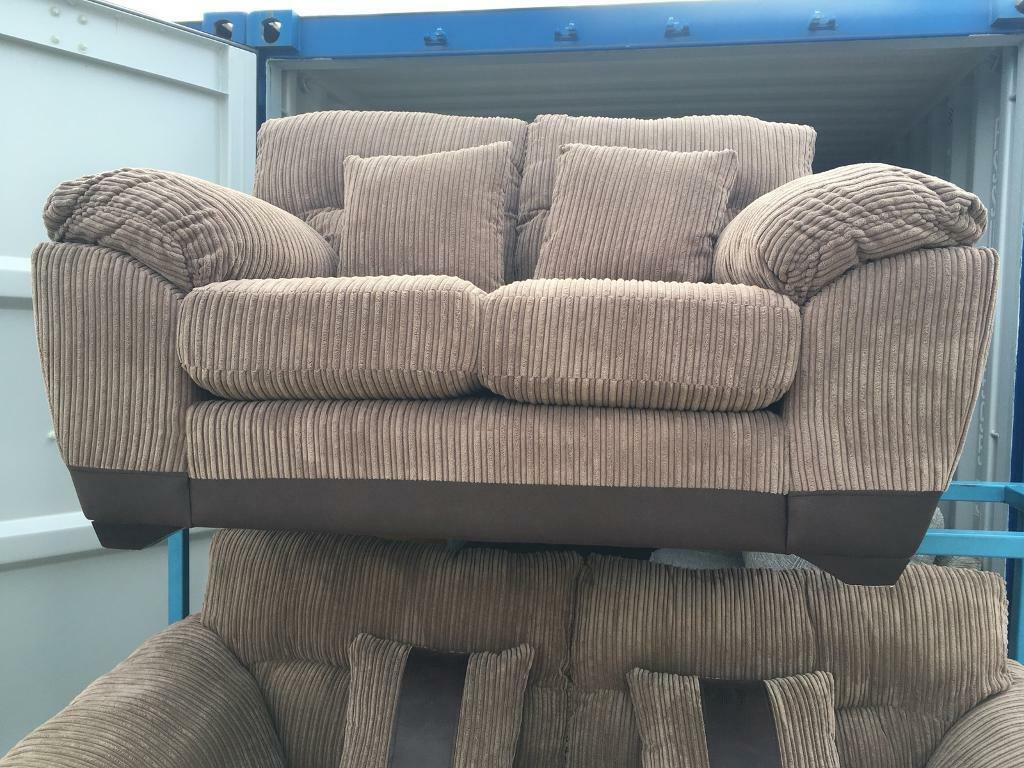 Dfs Nutmeg Cord 2 Seater Sofa New Ex Display In