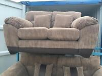 Dfs Nutmeg Cord 2 Seater Sofa (New Ex Display)