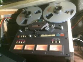 Tascam34 4 channel & Teac A-3300 Reel to Reel tape recorders