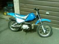 Pw80 dirtbike