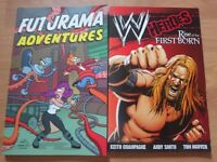 Futurama and WWE graphic novel