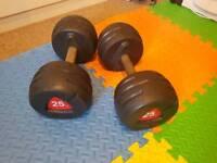 Escape fitness edge dumbbells 25kg