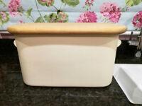 Cream Ceramic Bread Bin by Nigella Lawson