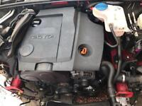 Audi A4 A6 2.0tdi engine ( complete with turbo and injectors )