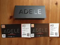 Adele tickets x 2 - 01/07/2017