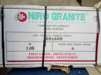 TWO Boxes of 'NIRO GRANITE' tiles