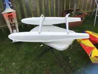 RC Model Aircraft 60-90 size Float Set