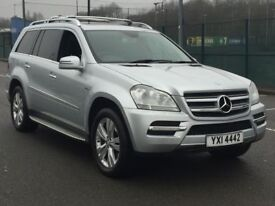 2011 MERCEDES GL350 BE * 7 SEATER * NAV * REAR SCREENS * FMBSH * LEATHER * FINANCE * PART EX *
