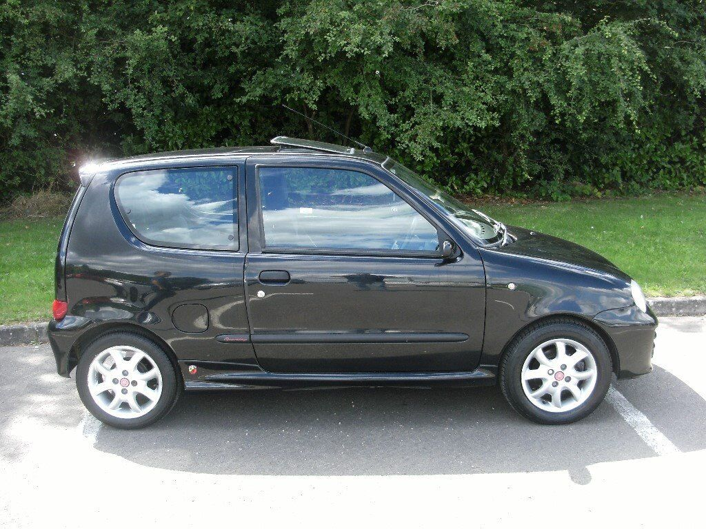 fiat seicento sporting  u0026quot abarth model u0026quot  only 49 000 miles
