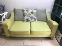 2 seater pillow back sofa from dfs