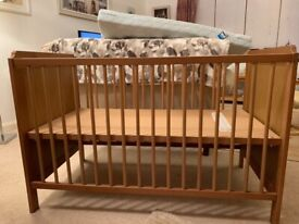 Baby cot as new condition