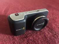 Blackmagic Design Pocket Cinema Camera with Additional Batteries & Sandisk Extreme Pro SD Cards