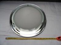 Expensive plate glass domed bathroom light