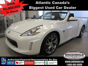 2014 Nissan 370Z Touring w/Bordeaux Top