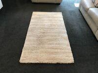 Cream & brown rug