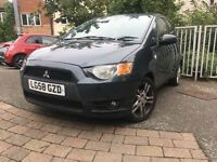 GREAT VALUE, LOW MILLAGE 58 plate Mitsubishi colt cz2, mot, grey, i10,i20, jazz, Micra, 307,208,ford