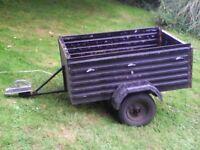 trailer for repair