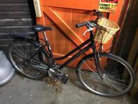 Ridgeback Motion Ladies Town Bike, Fully Serviced, Free D-Lock, Lights, Delivery. Warranty