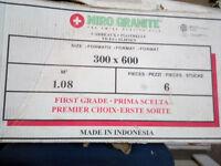 2 Boxes of 'Niro Granite' Prima Scelta design