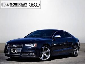 2015 Audi S5 3.0T Progressiv, Certified Warranty, New Brakes