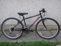 Specialized rock hopper retro mountain bike, 26 inch wheels, 21 gears, 15 inch frame