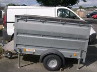 trailer for sale 2 years old used for craft shows now have a van no longer required paid £800 for it