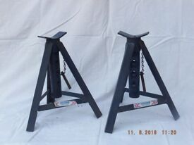 """CAR AXLE STANDS BY """"COUGER"""" sold as a pair."""