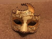3 x Venetian Masquerade masks