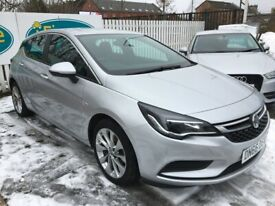 image for Vauxhall Astra 1.4 Design Turbo, 2016, Manual - £59 PER WEEK - CAR IS £8495