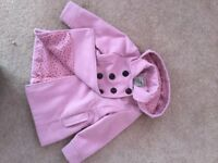 NEXT GIRLS COAT, AGE 3-4, EXCELLENT CONDITION