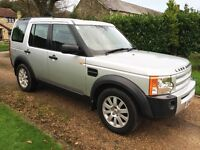2005 LAND ROVER DISCOVERY 3 2.7 TDV6 SE AUTO SILVER - CAM BELTS DONE - SERVICED IN DECEMBER - FSH