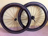 Oval Concepts 950-10/11 Speed 700c Carbon/Alloy Clincher Wheelset
