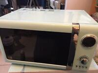 Candy Rose 700w Microwave (duck egg blue)