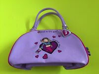 Purple Groovy Chick Bag (includes zipper pocket)