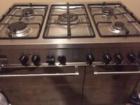 STOVES 90CM GAS DOUBLE OVEN COOKER BIG SIZE