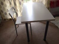 ikea table +1chair