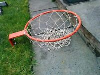 Basket ball hoop with net official size