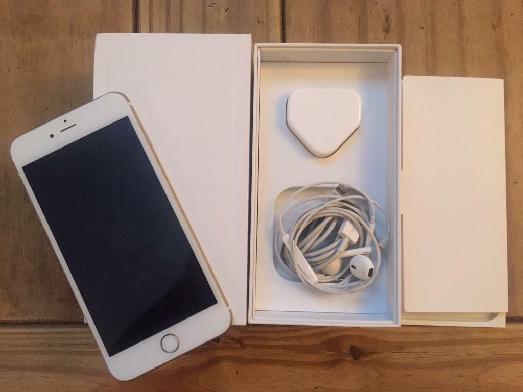 IPHONE 6 PLUS 128GB EXCELLENT CONDITIONin St Albans, HertfordshireGumtree - iPhone 6 Plus big 128gb in stunning gold Fully working order in excellent condition as can be seen in the photos not a mark on the screen as its had a screen protector all the time comes with box and charger and I also have earphones but are used !!...