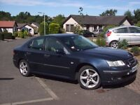 FOR SALE SAAB 9-3 2 L TURBO PETROL AUTOMATIC ONE OWNER FROM NEW. 90K ON THE CLOCK full years mot