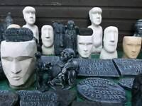 50 garden ornaments stone