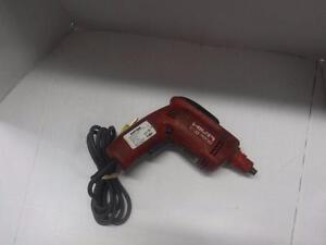 Hilti Screw Gun 110 volts. We sell used power tools. 101786