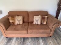 ScS 3 Seater Sofa with Love Chair