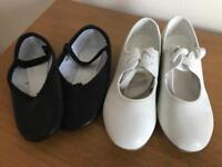 Tap and Ballet shoes