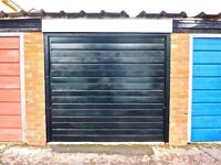 GARAGE LOCK-UP FOR RENT IN NORTH ROAD, CROESYCEILIOG, CWMBRAN. RECENTLY RENOVATED. AVAILABLE NOW.